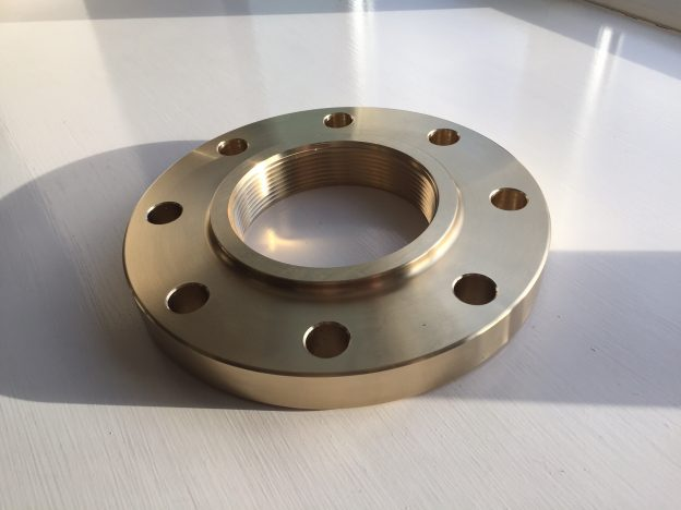 Production of bespoke and hard to find flanges