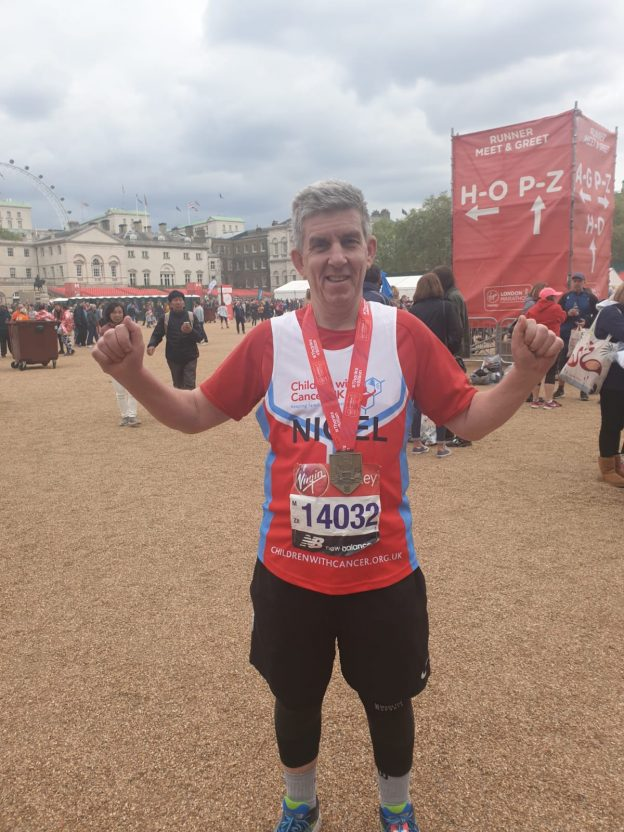 2019 London Marathon – Congratulations to Nigel!